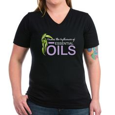 Under The Influence of Essential Oils Too T-Shirt on CafePress.com