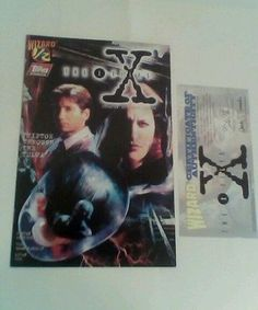 X-FILES-1-2-RARE-COMIC-BOOK-WITH-CERTIFICATE-OF-AUTHENTICITY