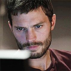 "Jamie does that intense thing so well. Jamie Dornan as Paul Spector in ""The Fall."""