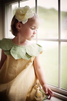 Flower girl dress, girls sundress, birthday dress - Blossoms and Bees Dress - 12m/18m, 2T, 3T, 4T, 5, 6, 7/8, 9/10
