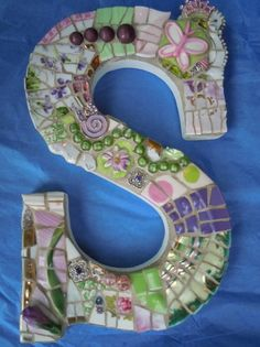 170 Best MOSAIC NUMBERS & LETTERS images in 2019 | Mosaics