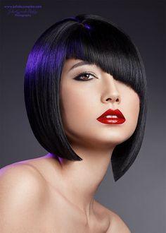 Contemporary Bob Hairstyles |  Makeup & Hair: Mikala Jean Vandenbroucke Photo & Post: Julia Kuzmenko McKim