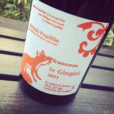 Bornard Le Ginglet Arbois Pupillin 2011. Note de dégustation / tasting note on www.facebook.com/dansmonverre #dansmonverre #philippebornard #trousseau #pupillin #ginglet #france #vin #wine #winelover