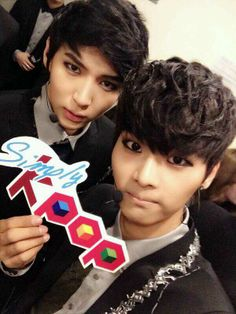 Leo and N - VIXX...my two biases