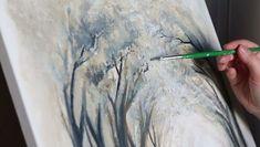 """"""" New beginning"""" pt. 2 . Acrylic paint on 40x40cm canvas . Music: InShot Classic - Silence theme .  #art #artist #paint #painting #acrylicpainting #naturepainting #natureart #natureartwork #forest #forestart #trees  #forestpainting #paintingvideo #paintingprocess #artvideo #inshot #inshotvideo #taide #taidetta #taidevideo #taidettavideolla #maalaus #maalausvideo #maalausprosessi #luonto #luontotaidetta #metsä #metsätaide #metsämaalaus"""