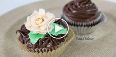 Cómo decorar cupcakes con ganache de chocolate, Si te gusta dinos HOLA y dale a Me Gusta MIREN | Receitas Soberanas