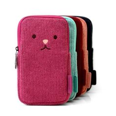 Monopoly Toffeenut multi pocket pouch ver.2 by Monopoly. The Toffeenut multi pocket is a cute and lovely zipper pouch for multi use.