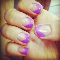 yellow simple nail design  glamour nails simple nail