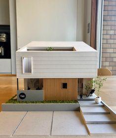 けいかく中 – atelier / rosy – - 名古屋市の住宅設計事務所 フィールド平野一級建築士事務所 Japan Modern House, Japan House Design, Modern Small House Design, Sims 4 House Design, Sims House, Architecture Building Design, Concept Architecture, Modern Architecture, Minecraft House Designs