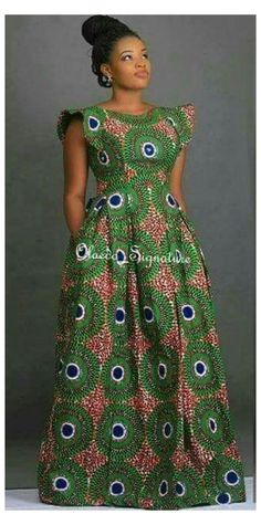 Latest African Fashion Dresses, African Print Dresses, African Dresses For Women, African Print Fashion, Africa Fashion, African Attire, Ankara Fashion, African Prints, African Fabric