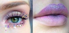 einhorn-kostüm-damen-make-up-augen-lippen