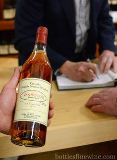 Van Winkle Bourbon 12 Year Old from Pappy Van Winkle Bourbon tasting & dinner with Julian Van Winkle III at Bottles in Providence, RI