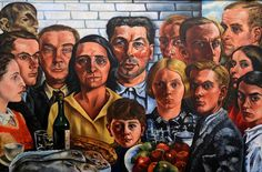 https://flic.kr/p/RiMMz4   Rotterdam (The Netherlands) - Museum Boijmans-Van Beuningen - Charley Toorop - The dinner of friends   Pictures by Björn Roose. Taken in the museum Boijmans-Van Beuningen, Rotterdam (The Netherlands) in February 2016.