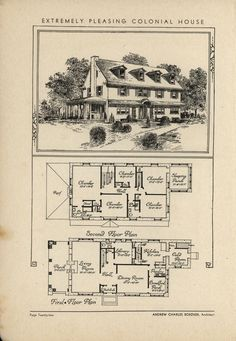 1932...The book of beautiful homes.