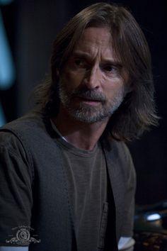 Robert Caryle as Dr. Nicholas Rush in Stargate Universe