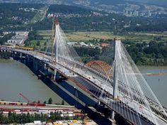 @VancityBuzz - Vancouver Canada News @TransLink releases Port Mann Bridge rapid bus schedule. Ten lanes of traffic, world' widest.