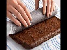 ▶ How to Make a Chocolate Roulade Cake - YouTube