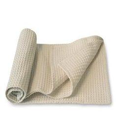 organic cotton waffle cook's towel