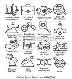 Vector - Business management icons in line style. Pack 15. - stock illustration, royalty free illustrations, stock clip art icon, stock clipart icons, logo, line art, EPS picture, pictures, graphic, graphics, drawing, drawings, vector image, artwork, EPS vector art