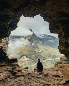Wally's cave, Lion's Head, Cape Town, South Africa....