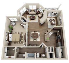 St. Louis, MO Apartments Floor Plans at Waterford Downs