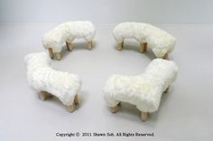 Sheep Benches by Design Artist Shawn Soh | Interior Design Files