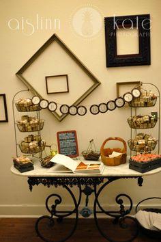 Guest Book Table, Wedding Details (Pensacola Wedding Photographer)