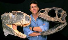 early abelisaurid // Late Cretaceous Rugops : reconstruction and skull ( .....and Paul Serano )