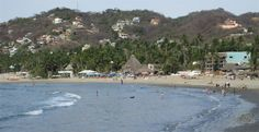 The beautiful bay of Sayulita looking north to where Casitas Sayulita is located. Sayulita, Mexico