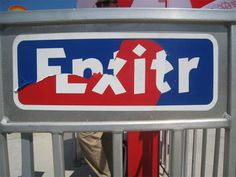 Enter/Exit at the Jersey shore.