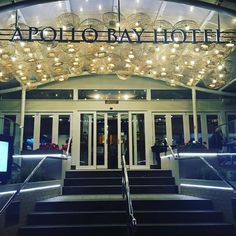 Client: @apollobayhotel || Any plans this weekend? What about a cheeky escape to the #apollobayhotel on the #greatoceanroad? Saturday's (21st) forecast is a sunny 18 degrees.  @stevesaxtonmusic by chatterboxmarketing
