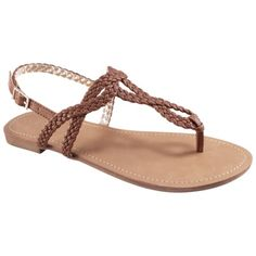 Favorite summer sandals ever - I get metallic and brown.  Womens Merona® Esma Sandal - Assorted Colors, $15.00