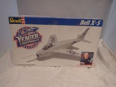 CHUCK YEAGER BELL X-5 REVELL 1:40 SCALE VINTAGE SKILL 2 PLASTIC MODEL KIT #4566 #Revell Plastic Model Kits, Plastic Models, Revell Model Kits, Scale, Vintage, Weighing Scale, Vintage Comics, Libra, Balance Sheet