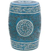 Found it at Wayfair - Medallion Porcelain Garden Stool