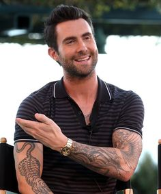 adam levine tattoos - Buscar con Google