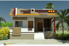 Simple Home Front Wall Design Images Home Design Images Front Home Design Home Front Elevation Paint Design Wall Simple House Entry For Best 60 Modern House Front Facade Design Exterior W. Simple House Exterior Design, Modern Home Design, House Front Wall Design, Single Floor House Design, House Outside Design, Village House Design, Kerala House Design, Floor Design, Facade Design
