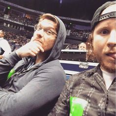 Via Zach: When Louis CK is playing the same place you're rehearsing ... You go. @thebrentsmith #ZachMyers #BrentSmith #Shinedown