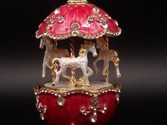 Famous Ballets, Rabbit Cake, Faberge Eggs, Swarovski Stones, Swan Lake, Carousel, Pink And Gold, Manual, Musicals
