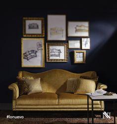 Utiliza colores brillantes para darle vida a tu sala.