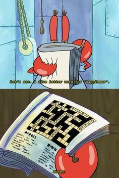 Ah yes, Mr. Krabs, setting good examples for our children