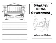 Here's a nice branches of government mini-book.