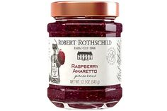 A delicate blend of sweet raspberries combined with the delightful sweet almond taste of amaretto. The bright berry flavor works perfectly on a crispy English muffin or smothered over grilled pork loin. Topping for toast, combine with yogurt, use as a filling for coffee cake or thumbprint cookies.