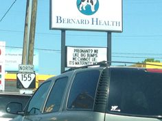 Pregnant humor