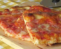 Pizza Bonci senza glutine a lunga lievitazione