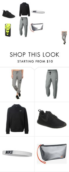 """""""All Nike"""" by mariah-johnson-16 ❤ liked on Polyvore featuring NIKE"""