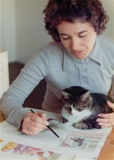 Judith Kerr (great cat lady) on the stories behind her sketches - Telegraph