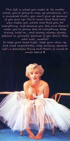 Marilyn Monroe!!!