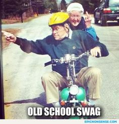 Old People Swag @Hailey Sawyer  this made me think of us!!!! :)