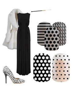 """Cruella DeVille - Jamberry"" by easilydistractedgirl ❤ liked on Polyvore featuring beauty and T-Bags Los Angeles"