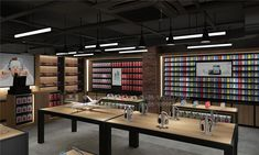 Black Geek Store within a Store Phone Accessories Shop Design Showroom Design, Shop Interior Design, Mobile Phone Shops, Mobile Shop, Shop House Plans, Shop Plans, Electronics Projects, Electronics Components, Accessories Display